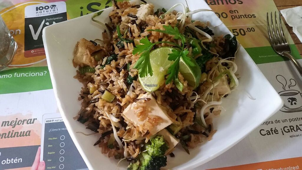 "Photo of 100% Natural  by <a href=""/members/profile/monisonfire"">monisonfire</a> <br/>rice bowl with tofu <br/> April 27, 2017  - <a href='/contact/abuse/image/9029/253226'>Report</a>"