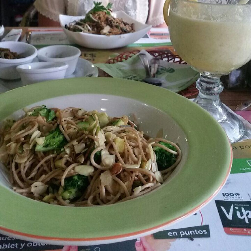 "Photo of 100% Natural  by <a href=""/members/profile/monisonfire"">monisonfire</a> <br/>pasta, smoothie & rice bowl <br/> April 27, 2017  - <a href='/contact/abuse/image/9029/253228'>Report</a>"