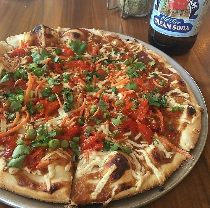 """Photo of Gusto Pizza  by <a href=""""/members/profile/MelodyVeganJoy"""">MelodyVeganJoy</a> <br/>vegan cheese! <br/> April 4, 2018  - <a href='/contact/abuse/image/90306/380444'>Report</a>"""