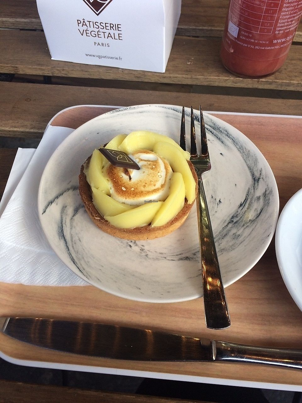"Photo of VG Pâtisserie  by <a href=""/members/profile/sabrinajh"">sabrinajh</a> <br/>Lemon meringue tart <br/> December 5, 2017  - <a href='/contact/abuse/image/90318/332498'>Report</a>"