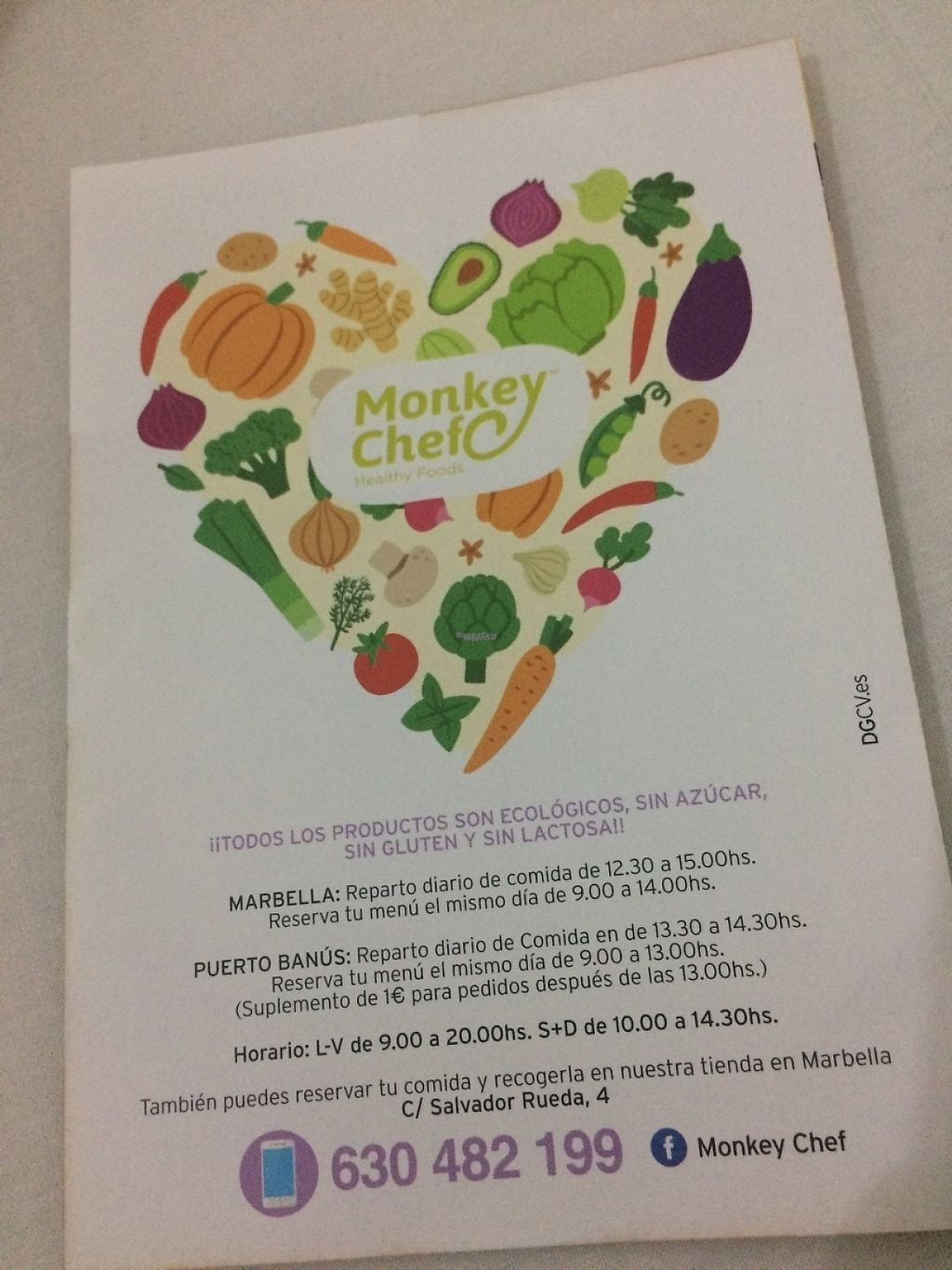 """Photo of CLOSED: Monkey Chef  by <a href=""""/members/profile/pauletam"""">pauletam</a> <br/>Leaflet <br/> April 13, 2017  - <a href='/contact/abuse/image/90369/247689'>Report</a>"""