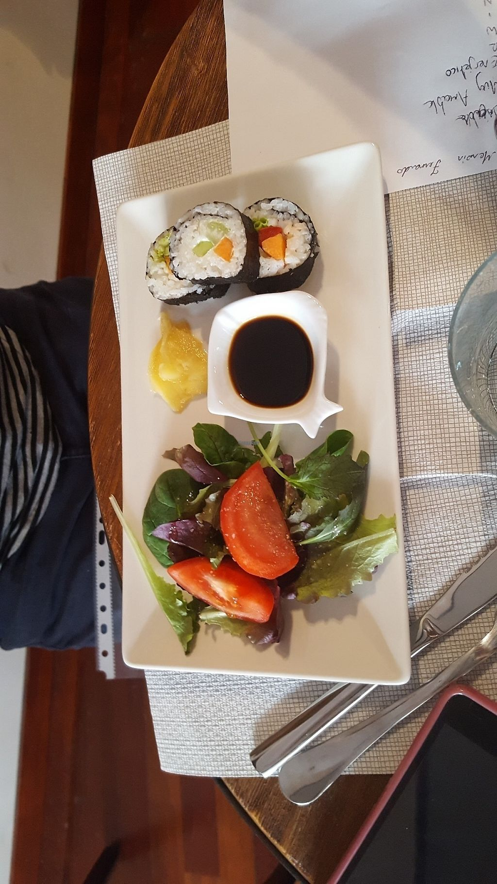 """Photo of Codigos del Arte  by <a href=""""/members/profile/TheCrumbyVegan"""">TheCrumbyVegan</a> <br/>Vegan sushi <br/> April 13, 2017  - <a href='/contact/abuse/image/90372/247621'>Report</a>"""