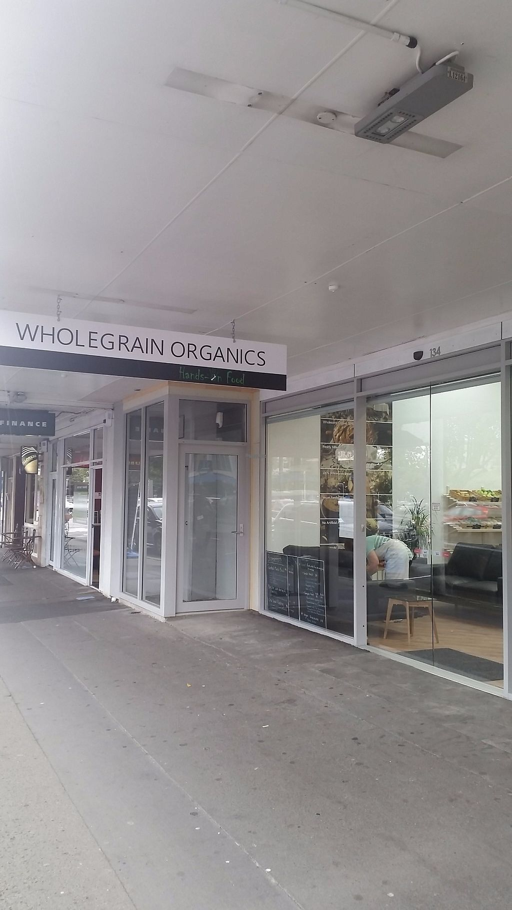 """Photo of Wholegrain Organics  by <a href=""""/members/profile/AndyTheVWDude"""">AndyTheVWDude</a> <br/>134 The Square ~ Palmerston North <br/> April 13, 2017  - <a href='/contact/abuse/image/90377/247709'>Report</a>"""