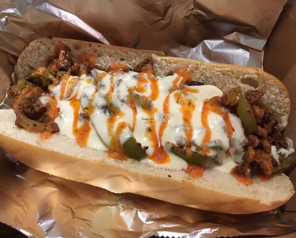 """Photo of The Grub Factory  by <a href=""""/members/profile/nardanddee"""">nardanddee</a> <br/>cheesesteak <br/> May 30, 2017  - <a href='/contact/abuse/image/90385/264326'>Report</a>"""