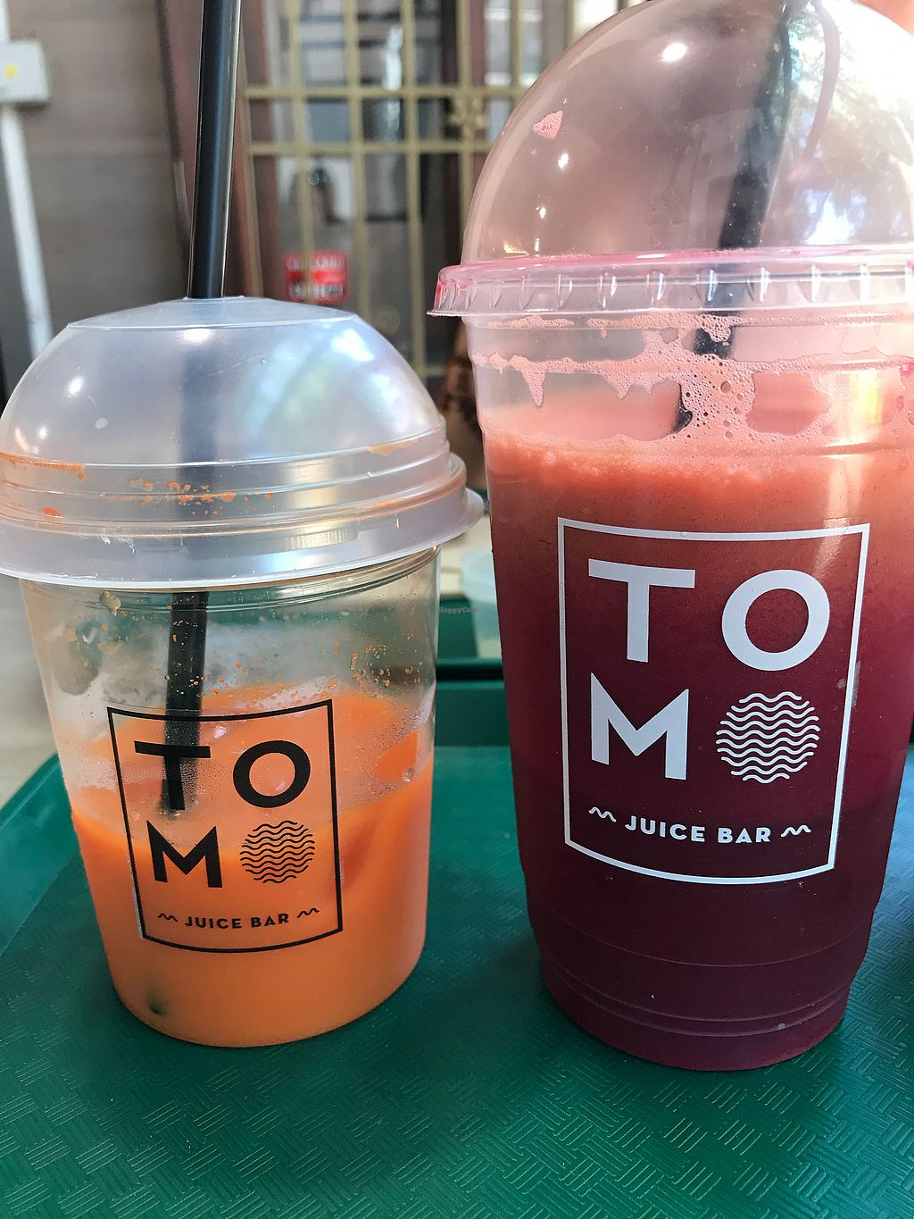 """Photo of TOMO juice bar  by <a href=""""/members/profile/Sezbakes"""">Sezbakes</a> <br/>Fresh juice  <br/> January 24, 2018  - <a href='/contact/abuse/image/90386/350441'>Report</a>"""
