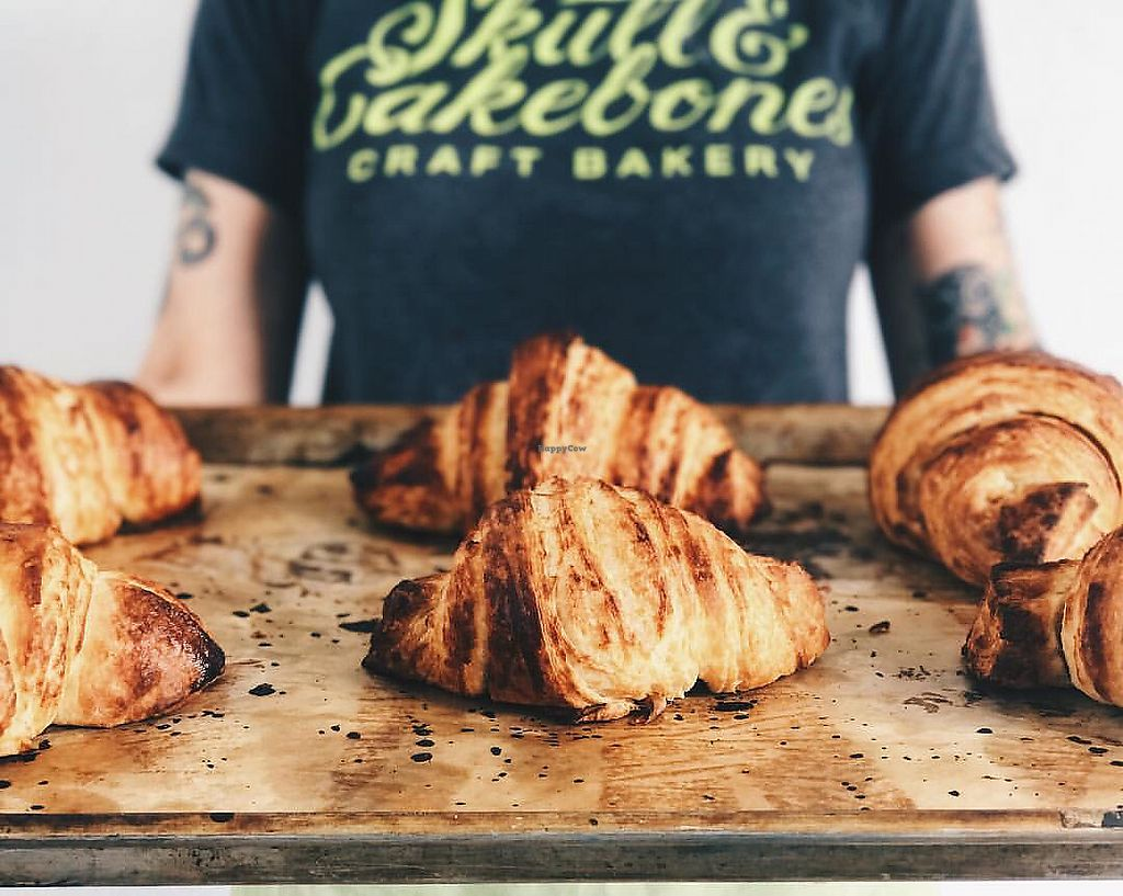 """Photo of Skull & Cakebones  by <a href=""""/members/profile/Veganmeower"""">Veganmeower</a> <br/>vegan croissants ?! <br/> July 19, 2017  - <a href='/contact/abuse/image/90391/282005'>Report</a>"""