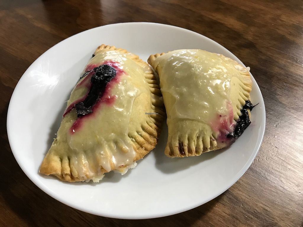 """Photo of Skull & Cakebones  by <a href=""""/members/profile/Vegan%20Vagabond"""">Vegan Vagabond</a> <br/>Blueberry pies <br/> February 12, 2018  - <a href='/contact/abuse/image/90391/358193'>Report</a>"""