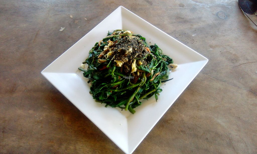 """Photo of The Garden of Nang  by <a href=""""/members/profile/Astravegan"""">Astravegan</a> <br/>Vegetable salad with black sesame <br/> April 26, 2017  - <a href='/contact/abuse/image/90402/252687'>Report</a>"""
