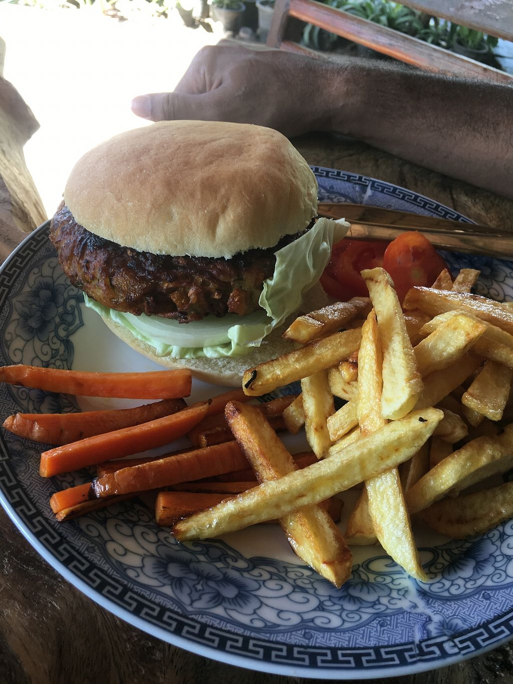 """Photo of The Garden of Nang  by <a href=""""/members/profile/Hopealomu"""">Hopealomu</a> <br/>Pumpkin Burger <br/> October 3, 2017  - <a href='/contact/abuse/image/90402/311383'>Report</a>"""