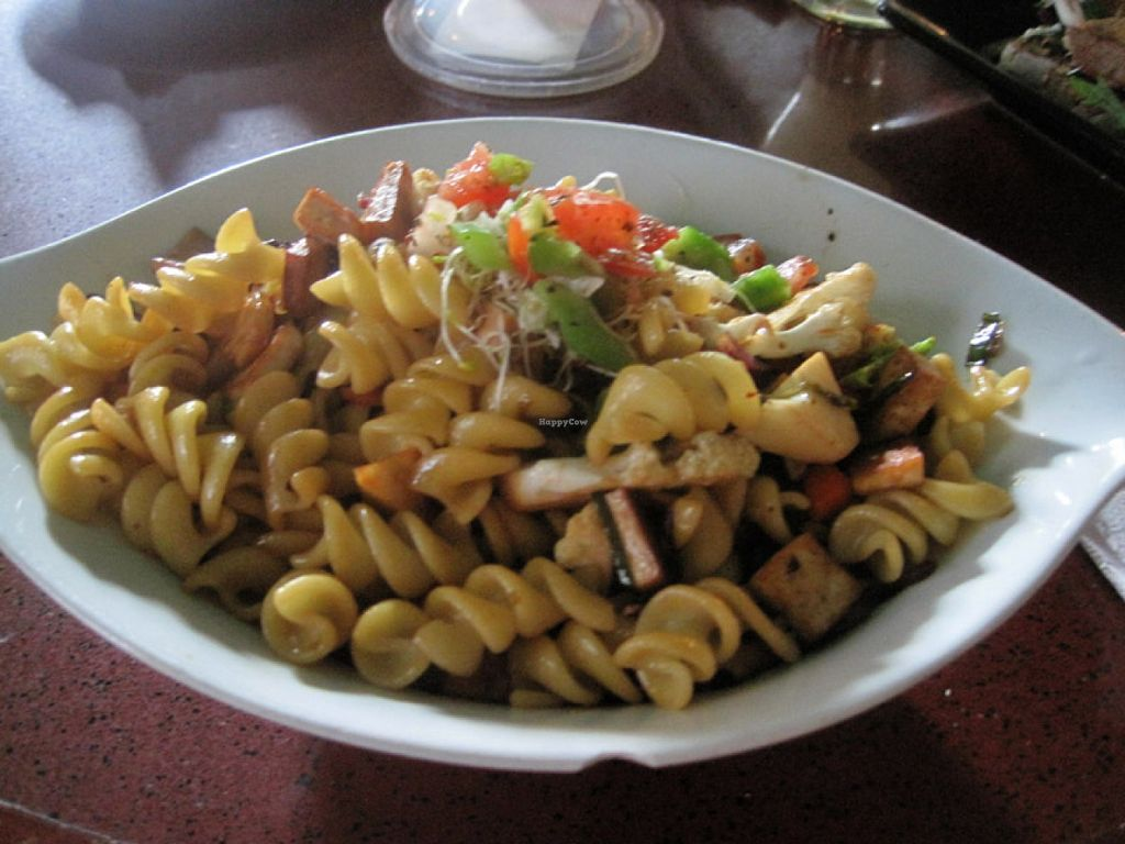 "Photo of L'Escalier  by <a href=""/members/profile/Babette"">Babette</a> <br/>Pasta (tamari, tofu and veggies) <br/> August 6, 2015  - <a href='/contact/abuse/image/9040/112561'>Report</a>"