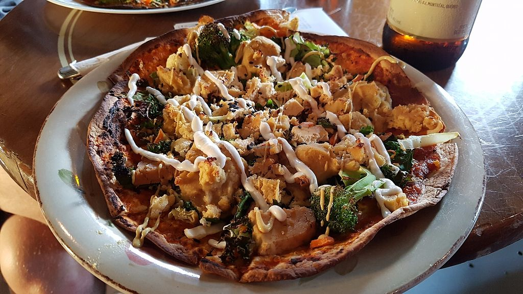 "Photo of L'Escalier  by <a href=""/members/profile/JonJon"">JonJon</a> <br/>Vegan pizza <br/> July 28, 2017  - <a href='/contact/abuse/image/9040/285796'>Report</a>"