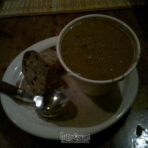 "Photo of L'Escalier  by <a href=""/members/profile/JonJon"">JonJon</a> <br/>Miso Coco soup <br/> June 1, 2011  - <a href='/contact/abuse/image/9040/8960'>Report</a>"