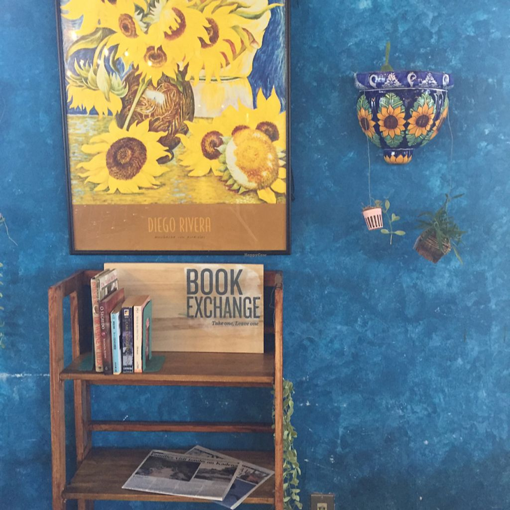 """Photo of Esparza's Tacos & Coffee  by <a href=""""/members/profile/amanda.rahimian"""">amanda.rahimian</a> <br/>book exchange  <br/> May 12, 2017  - <a href='/contact/abuse/image/90410/257987'>Report</a>"""