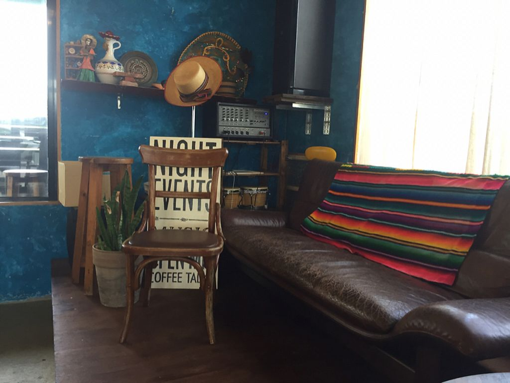"""Photo of Esparza's Tacos & Coffee  by <a href=""""/members/profile/amanda.rahimian"""">amanda.rahimian</a> <br/>little stage for events <br/> May 12, 2017  - <a href='/contact/abuse/image/90410/257988'>Report</a>"""