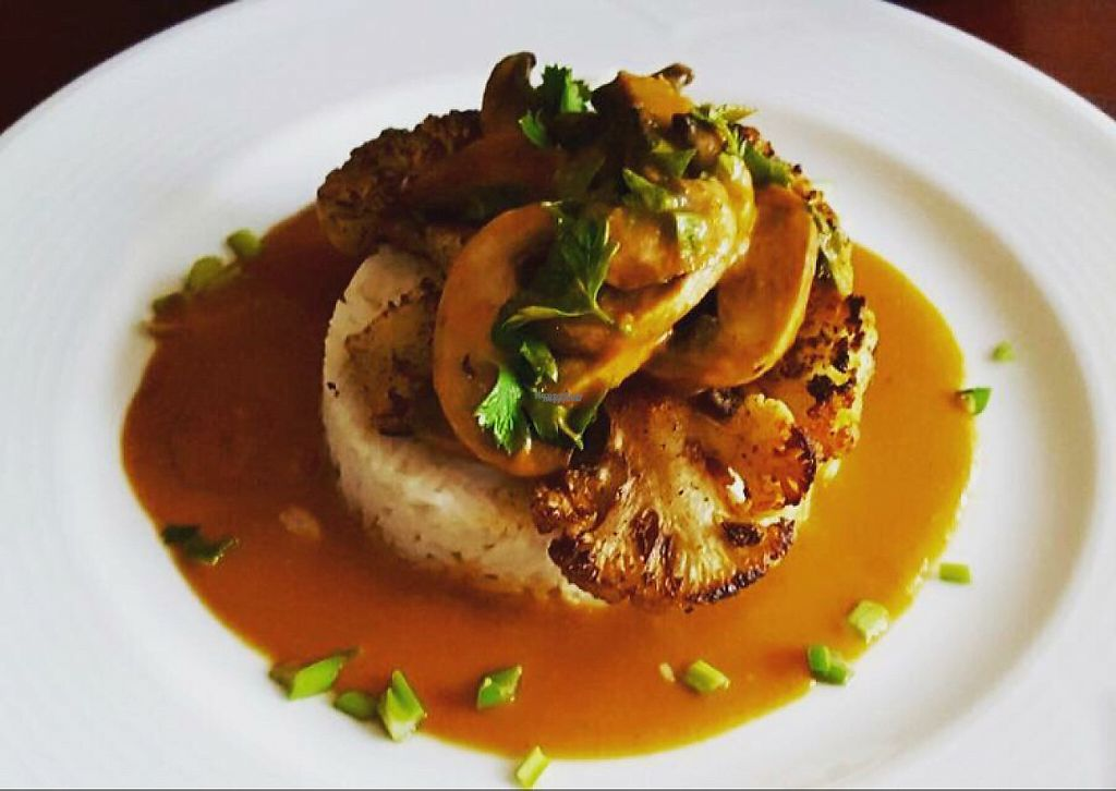 """Photo of CLOSED: Superfood Tirana  by <a href=""""/members/profile/Jonidaj"""">Jonidaj</a> <br/>quinoa wuth mushroom in barbeque sauce and cauliflower cheese <br/> April 15, 2017  - <a href='/contact/abuse/image/90423/248062'>Report</a>"""