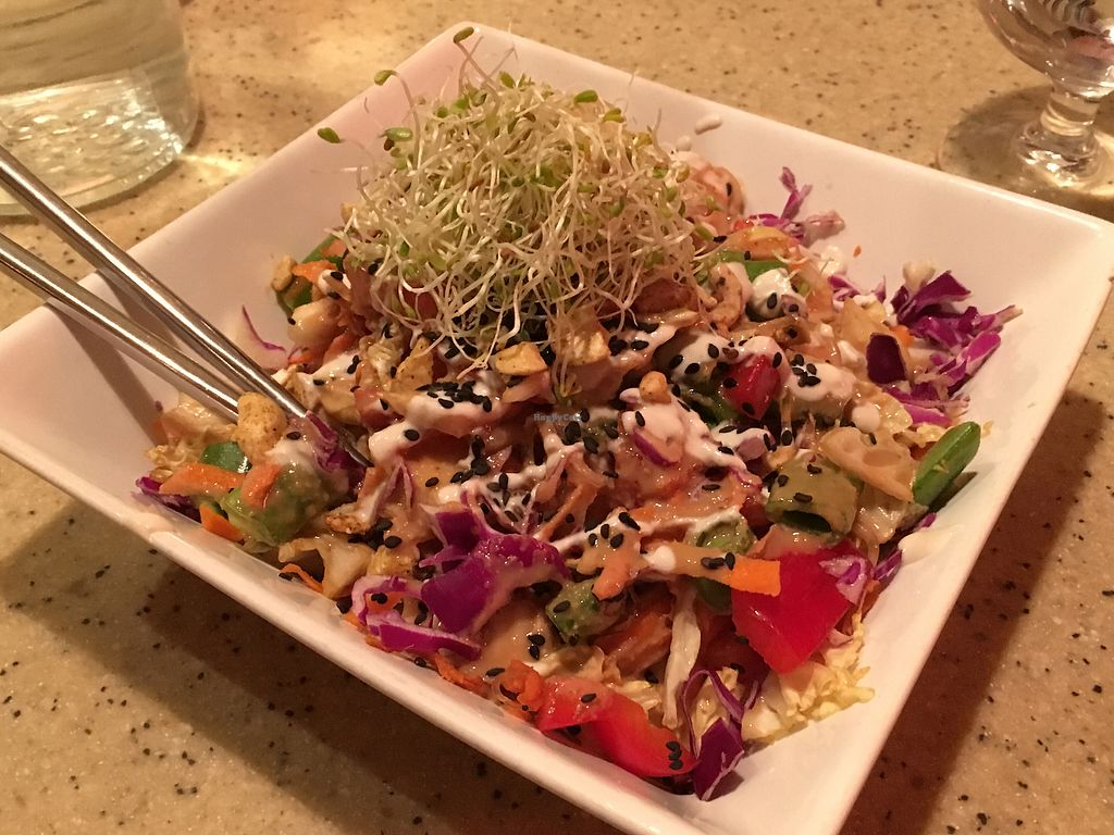 "Photo of The Present Moment Cafe and Market  by <a href=""/members/profile/KWdaddio"">KWdaddio</a> <br/>Vegetable Pad Thai <br/> November 13, 2017  - <a href='/contact/abuse/image/9044/324999'>Report</a>"