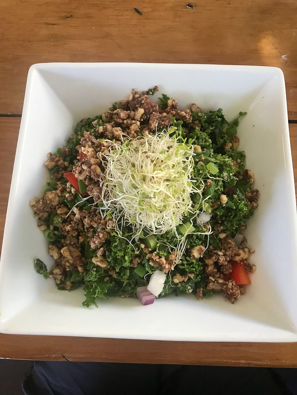 "Photo of The Present Moment Cafe and Market  by <a href=""/members/profile/IndreArbataityte"">IndreArbataityte</a> <br/>Mexican kale salad with pecans <br/> May 27, 2018  - <a href='/contact/abuse/image/9044/405849'>Report</a>"