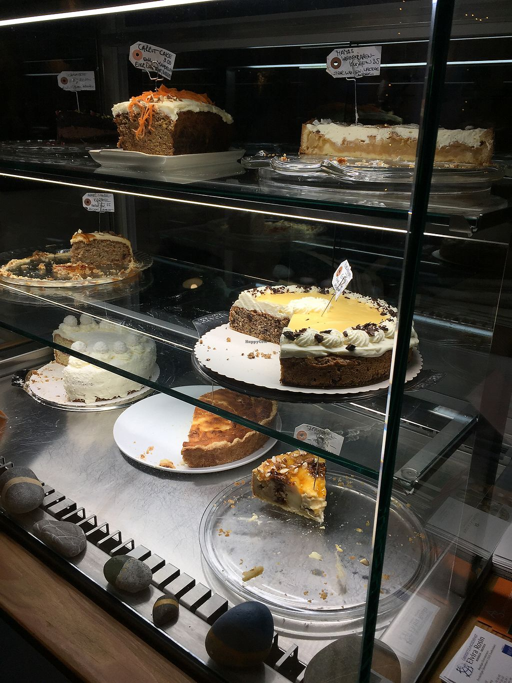 "Photo of Café Susann  by <a href=""/members/profile/amysworld"">amysworld</a> <br/>Cakes (also vegan) <br/> December 27, 2017  - <a href='/contact/abuse/image/90485/339618'>Report</a>"