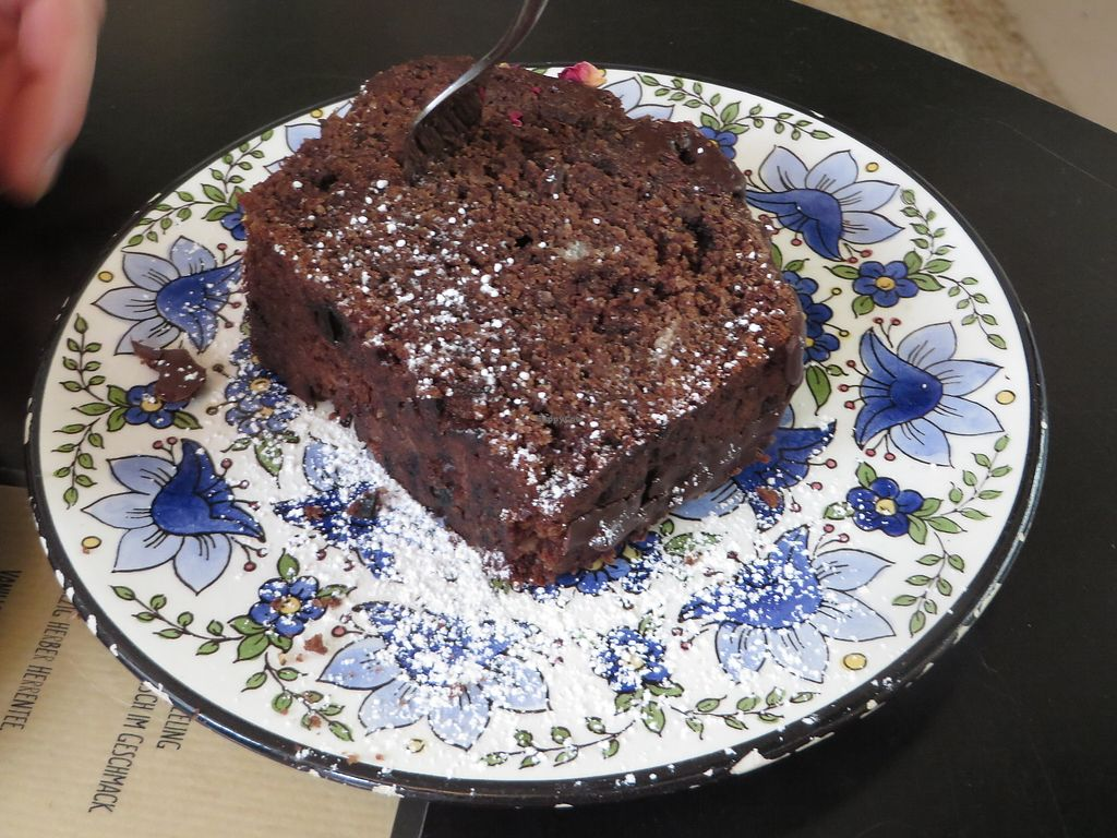 "Photo of Café Susann  by <a href=""/members/profile/VegiAnna"">VegiAnna</a> <br/>Beetroot and chocolate cake (vegan) <br/> January 30, 2018  - <a href='/contact/abuse/image/90485/352879'>Report</a>"