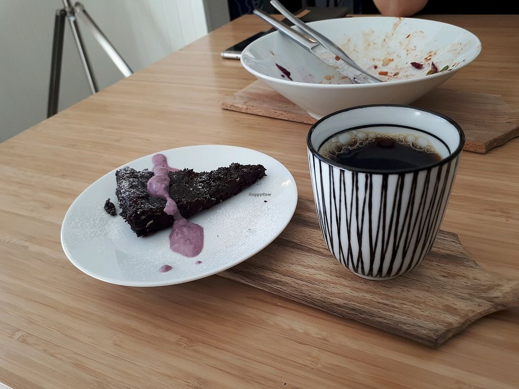 """Photo of Muff   by <a href=""""/members/profile/Kaourin"""">Kaourin</a> <br/>vegan choclate cake made of black beans.  <br/> April 6, 2018  - <a href='/contact/abuse/image/90493/381670'>Report</a>"""