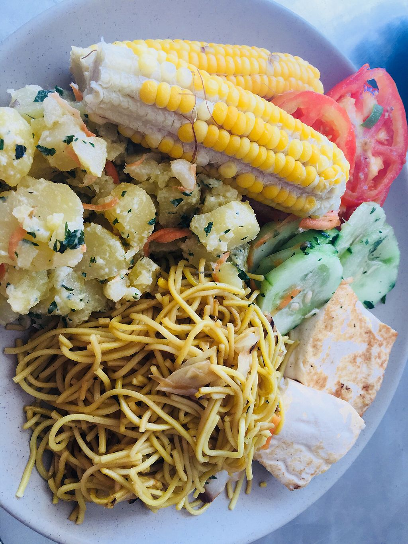 "Photo of La Casa Vegetariana  by <a href=""/members/profile/CrisyRivera"">CrisyRivera</a> <br/>Corn, vegetables, potato, tofu and noodles <br/> November 13, 2017  - <a href='/contact/abuse/image/90510/325395'>Report</a>"