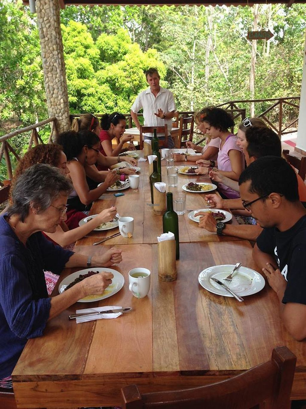 """Photo of Istmo Yoga and Adventure Retreat  by <a href=""""/members/profile/VegPanama"""">VegPanama</a> <br/>table <br/> April 17, 2017  - <a href='/contact/abuse/image/90513/249167'>Report</a>"""