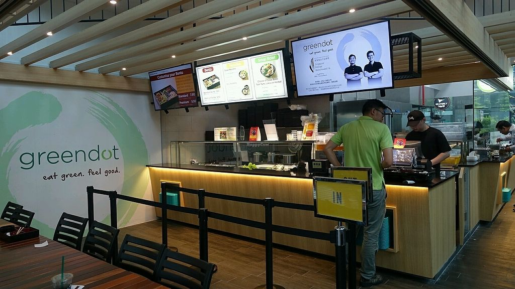 """Photo of Greendot - Mapletree Business City  by <a href=""""/members/profile/JimmySeah"""">JimmySeah</a> <br/>ordering counter <br/> October 12, 2017  - <a href='/contact/abuse/image/90524/314502'>Report</a>"""