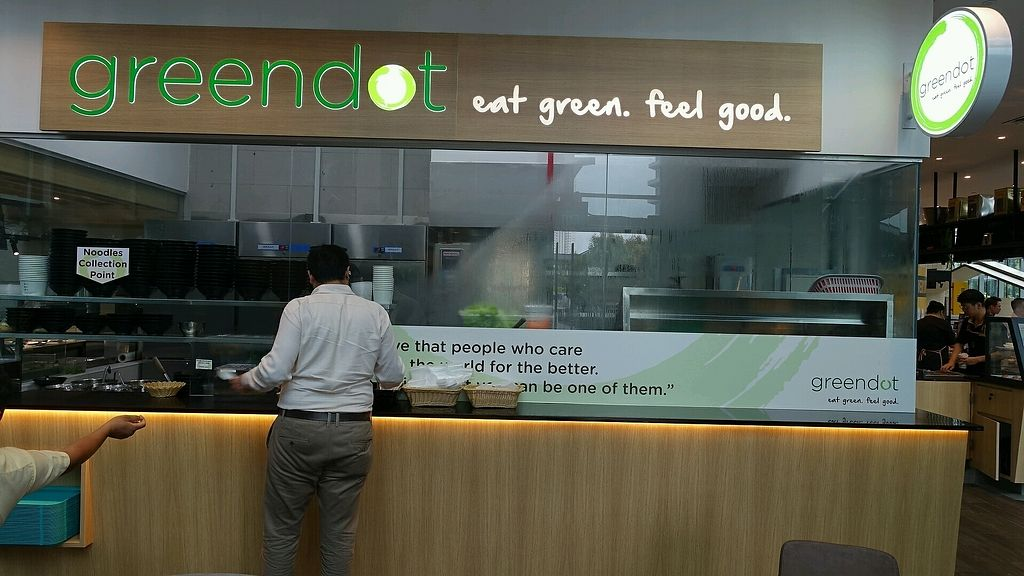 """Photo of Greendot - Mapletree Business City  by <a href=""""/members/profile/JimmySeah"""">JimmySeah</a> <br/>food collection counter  <br/> October 12, 2017  - <a href='/contact/abuse/image/90524/314503'>Report</a>"""