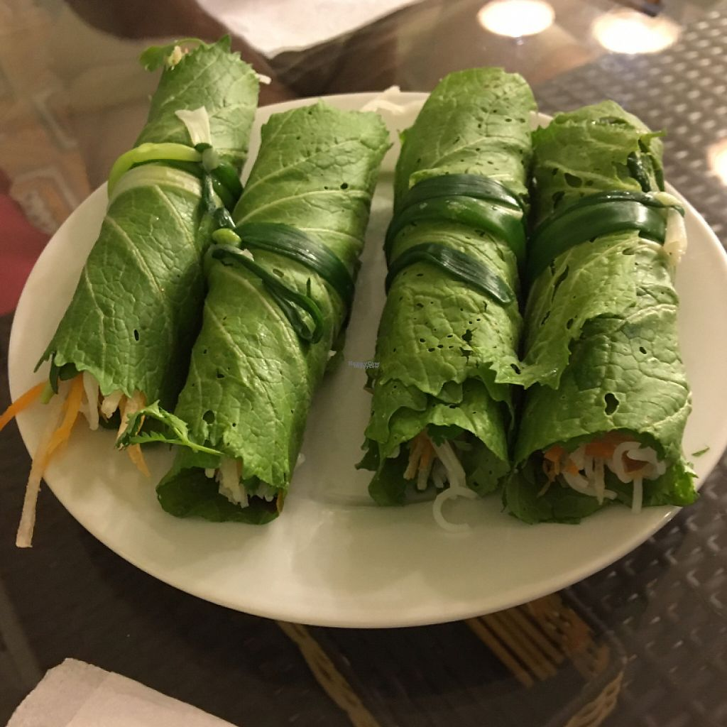 "Photo of Sesame  by <a href=""/members/profile/sudielasudes"">sudielasudes</a> <br/>Mustard leaf rolls - amazing! <br/> April 19, 2017  - <a href='/contact/abuse/image/90532/249955'>Report</a>"