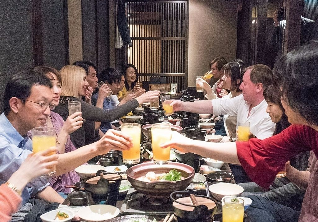 """Photo of Kikkon - Yurakucho  by <a href=""""/members/profile/VegeProjectJapan"""">VegeProjectJapan</a> <br/>Vege Project celebration @Yurakucho Kikkon <br/> April 19, 2017  - <a href='/contact/abuse/image/90550/249846'>Report</a>"""