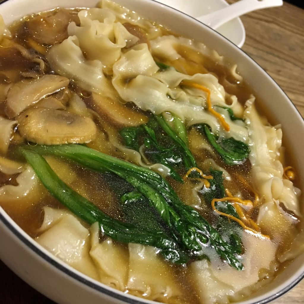 "Photo of The Lakeside Veggie  by <a href=""/members/profile/Kitty%20cow"">Kitty cow</a> <br/>菌汤刀削面 mushroom daoxiao noodles <br/> May 14, 2017  - <a href='/contact/abuse/image/90553/258712'>Report</a>"