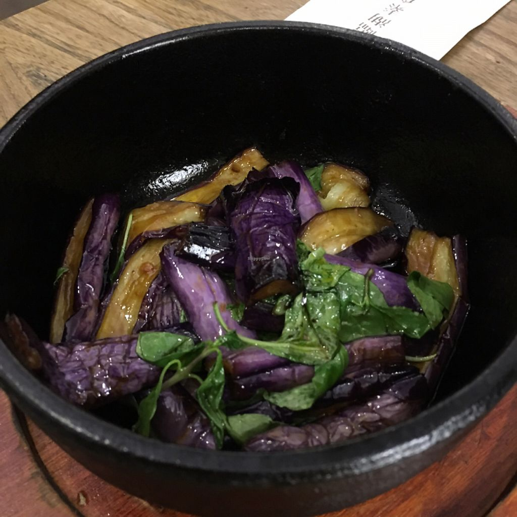 "Photo of The Lakeside Veggie  by <a href=""/members/profile/Kitty%20cow"">Kitty cow</a> <br/>三杯茄子 eggplant with basil <br/> May 14, 2017  - <a href='/contact/abuse/image/90553/258713'>Report</a>"