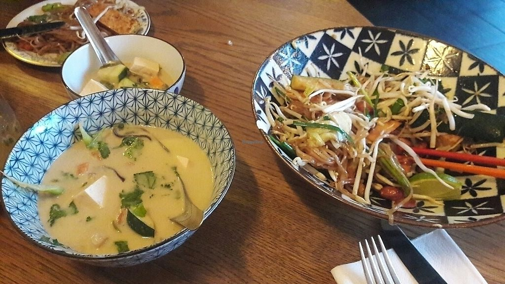 """Photo of Ranee's  by <a href=""""/members/profile/piffelina"""">piffelina</a> <br/>Pad Thai and soup  <br/> July 2, 2017  - <a href='/contact/abuse/image/90563/276093'>Report</a>"""
