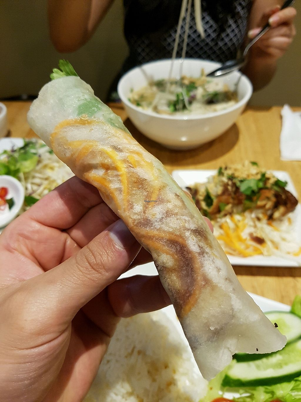 """Photo of An Nhien Vegetarian Cuisine  by <a href=""""/members/profile/JoeyJoe"""">JoeyJoe</a> <br/>peking wraps <br/> March 25, 2018  - <a href='/contact/abuse/image/90586/375935'>Report</a>"""