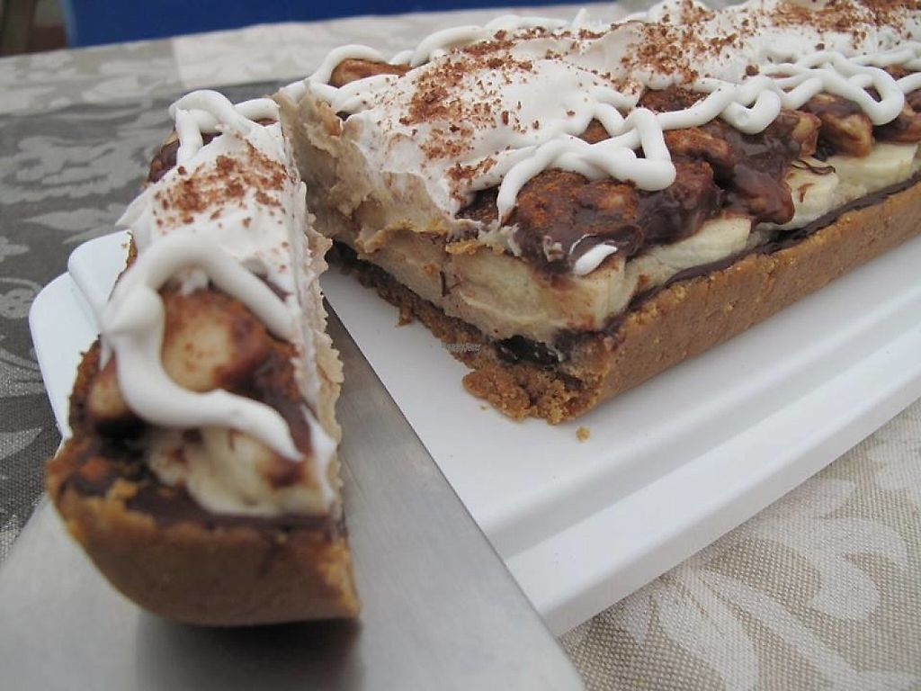 """Photo of Vegan Pastry   by <a href=""""/members/profile/community5"""">community5</a> <br/>Banoffee tart <br/> April 18, 2017  - <a href='/contact/abuse/image/90627/249771'>Report</a>"""