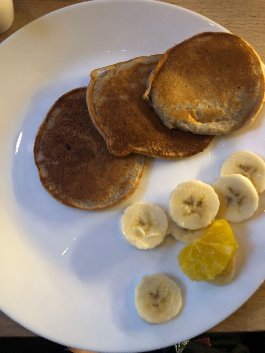 """Photo of Anima Cafe  by <a href=""""/members/profile/MarteBach"""">MarteBach</a> <br/>Vegan pancakes <br/> January 6, 2018  - <a href='/contact/abuse/image/90649/343563'>Report</a>"""