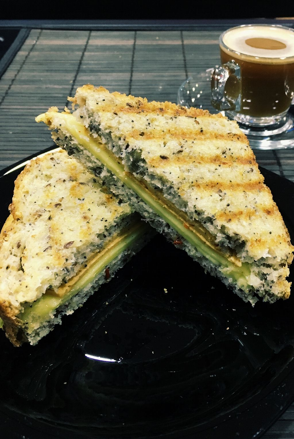"Photo of Vegana By Tentugal  by <a href=""/members/profile/NathaliaMilis"">NathaliaMilis</a> <br/>Vegan toast ham and cheese <br/> December 8, 2017  - <a href='/contact/abuse/image/90656/333552'>Report</a>"