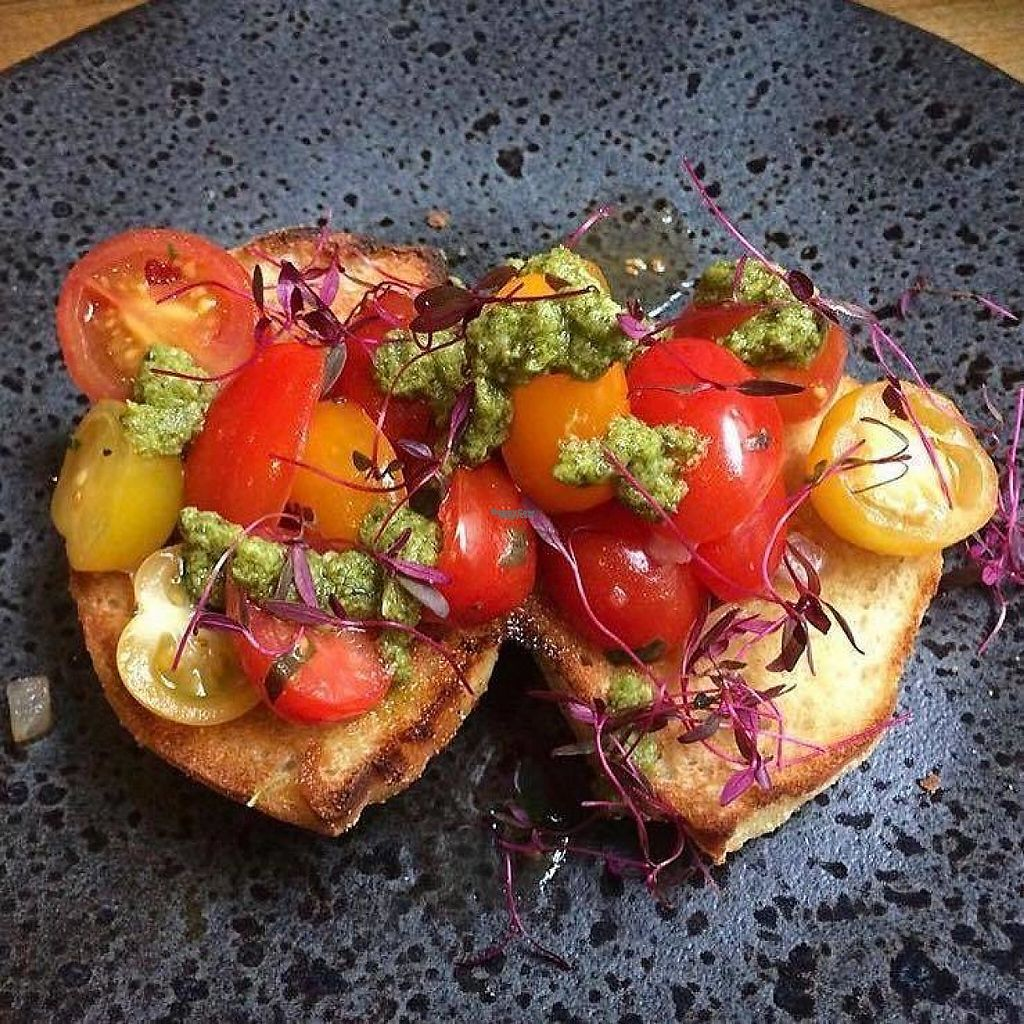 """Photo of Zizzi - The Light  by <a href=""""/members/profile/community5"""">community5</a> <br/>Vegan bruschetta <br/> April 18, 2017  - <a href='/contact/abuse/image/90663/249687'>Report</a>"""
