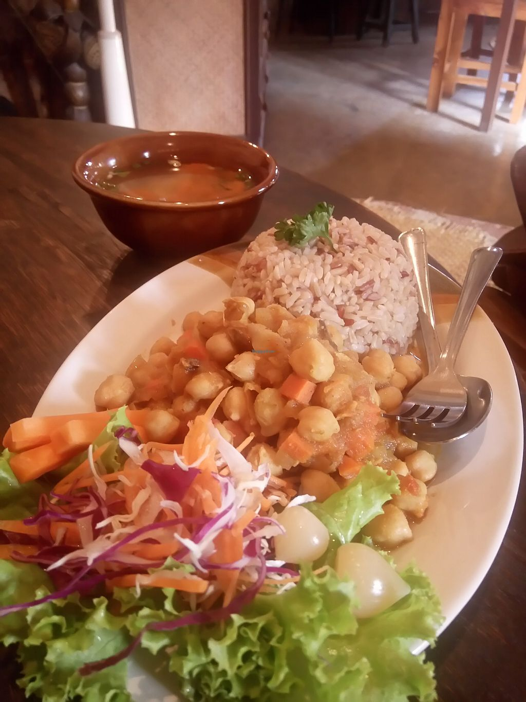 """Photo of Ramon Cafe  by <a href=""""/members/profile/alicus"""">alicus</a> <br/>Chickpeas <br/> February 17, 2018  - <a href='/contact/abuse/image/90714/360374'>Report</a>"""
