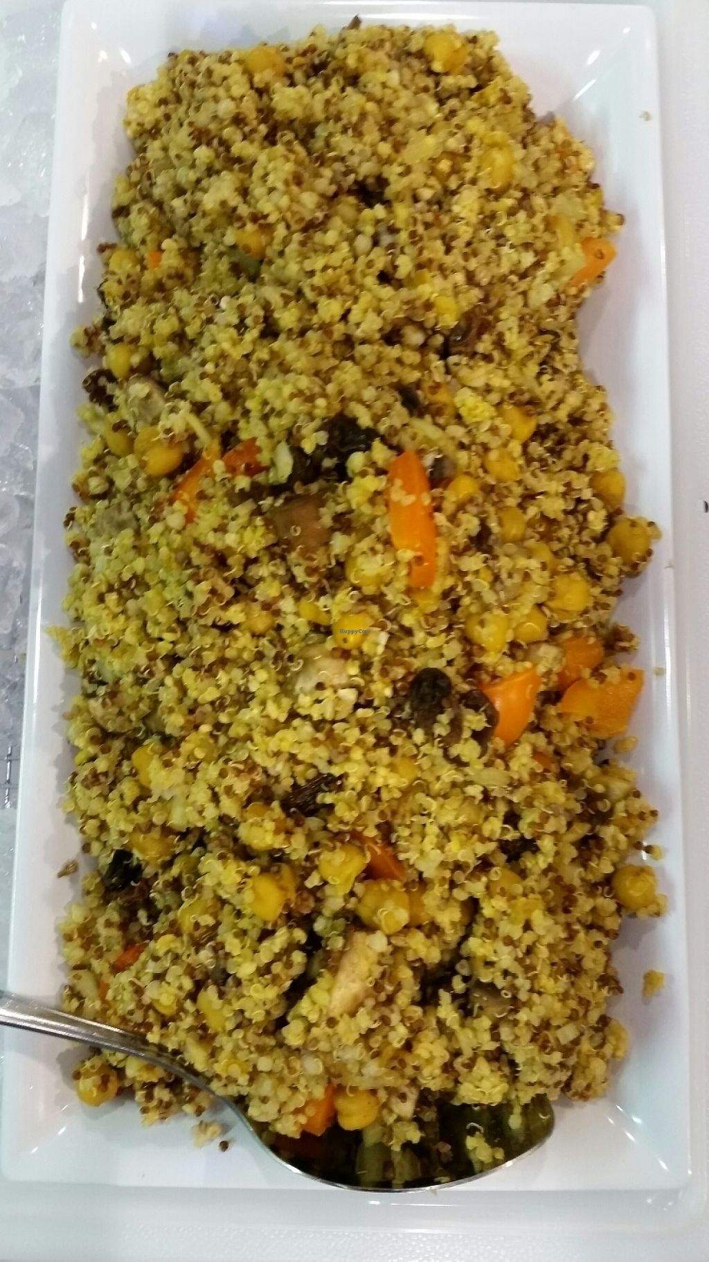 """Photo of Healthy Lifestyle Essentials  by <a href=""""/members/profile/MicheleHogarthLawren"""">MicheleHogarthLawren</a> <br/>quinoa with curried garbonzo beans & mushrooms <br/> May 10, 2017  - <a href='/contact/abuse/image/90733/257497'>Report</a>"""