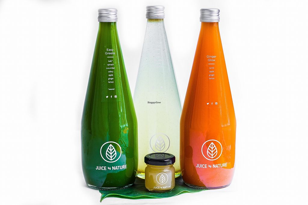 """Photo of Juice by Nature  by <a href=""""/members/profile/HelenTurner"""">HelenTurner</a> <br/>Variety of cold pressed juices <br/> January 29, 2018  - <a href='/contact/abuse/image/90750/352402'>Report</a>"""