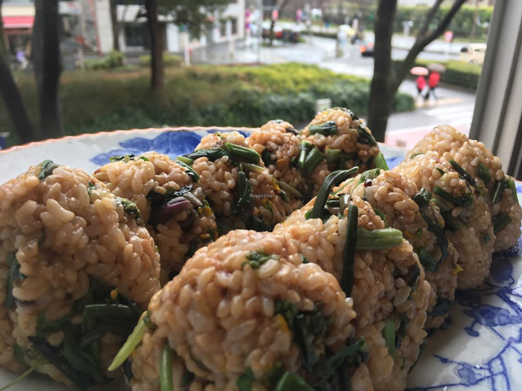 """Photo of OYAKI Company  by <a href=""""/members/profile/TomoyoOyaki"""">TomoyoOyaki</a> <br/>seasonal rice ball <br/> May 1, 2017  - <a href='/contact/abuse/image/90758/254755'>Report</a>"""