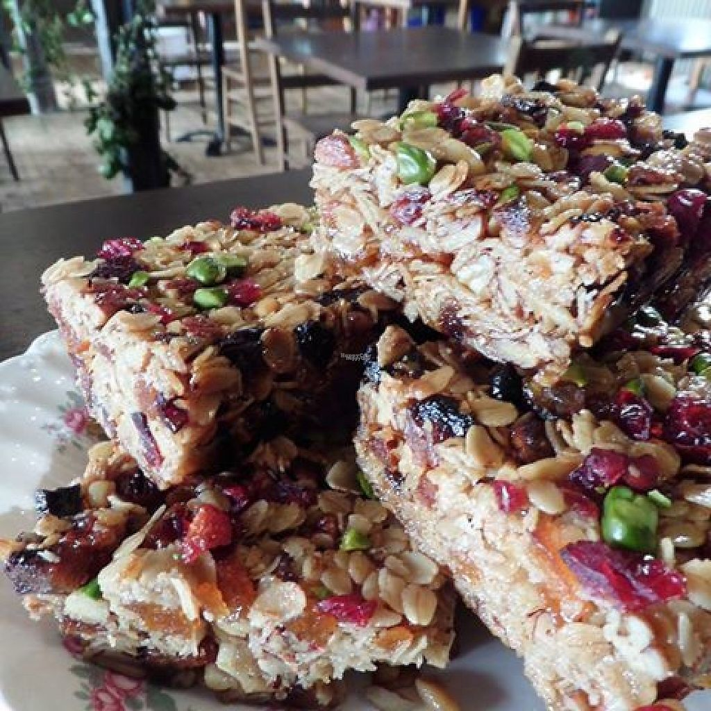 """Photo of Kitchen at The Art Shop & Chapel  by <a href=""""/members/profile/community5"""">community5</a> <br/>Apricot, Cranberry, Orange Blossom, Oat & Nut Slices <br/> April 21, 2017  - <a href='/contact/abuse/image/90771/250744'>Report</a>"""