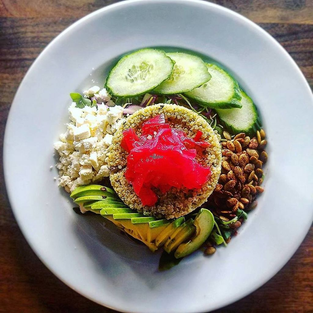 "Photo of Spring Street Natural  by <a href=""/members/profile/community5"">community5</a> <br/>Rainbow Organic Quinoa Salad <br/> April 20, 2017  - <a href='/contact/abuse/image/90789/250380'>Report</a>"