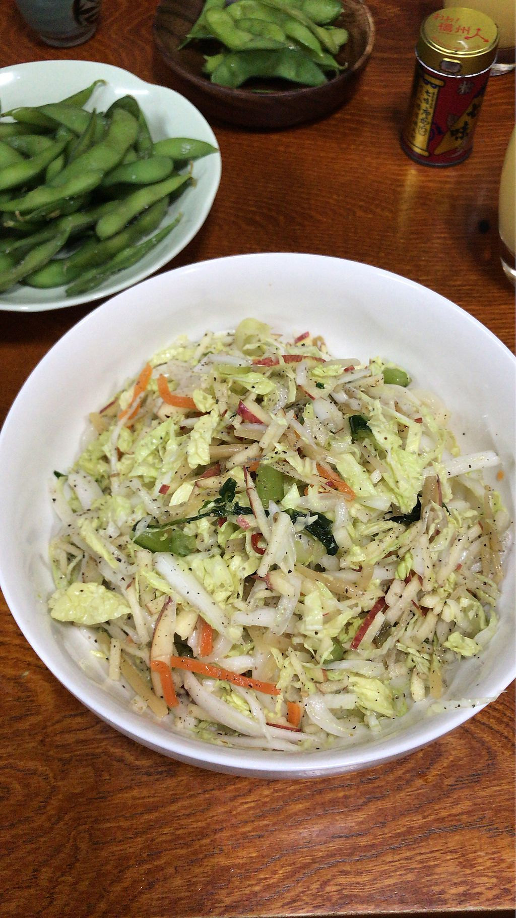 "Photo of Sobadokoro Yariya  by <a href=""/members/profile/MelissaW"">MelissaW</a> <br/>Udon salad with edamame  <br/> February 4, 2018  - <a href='/contact/abuse/image/90818/354828'>Report</a>"