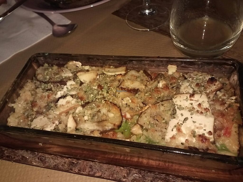Photo of La Casa Viva  by borjaf14 <br/>Lasaña vegana con bechamel de coliflor <br/> September 10, 2017  - <a href='/contact/abuse/image/90845/302919'>Report</a>