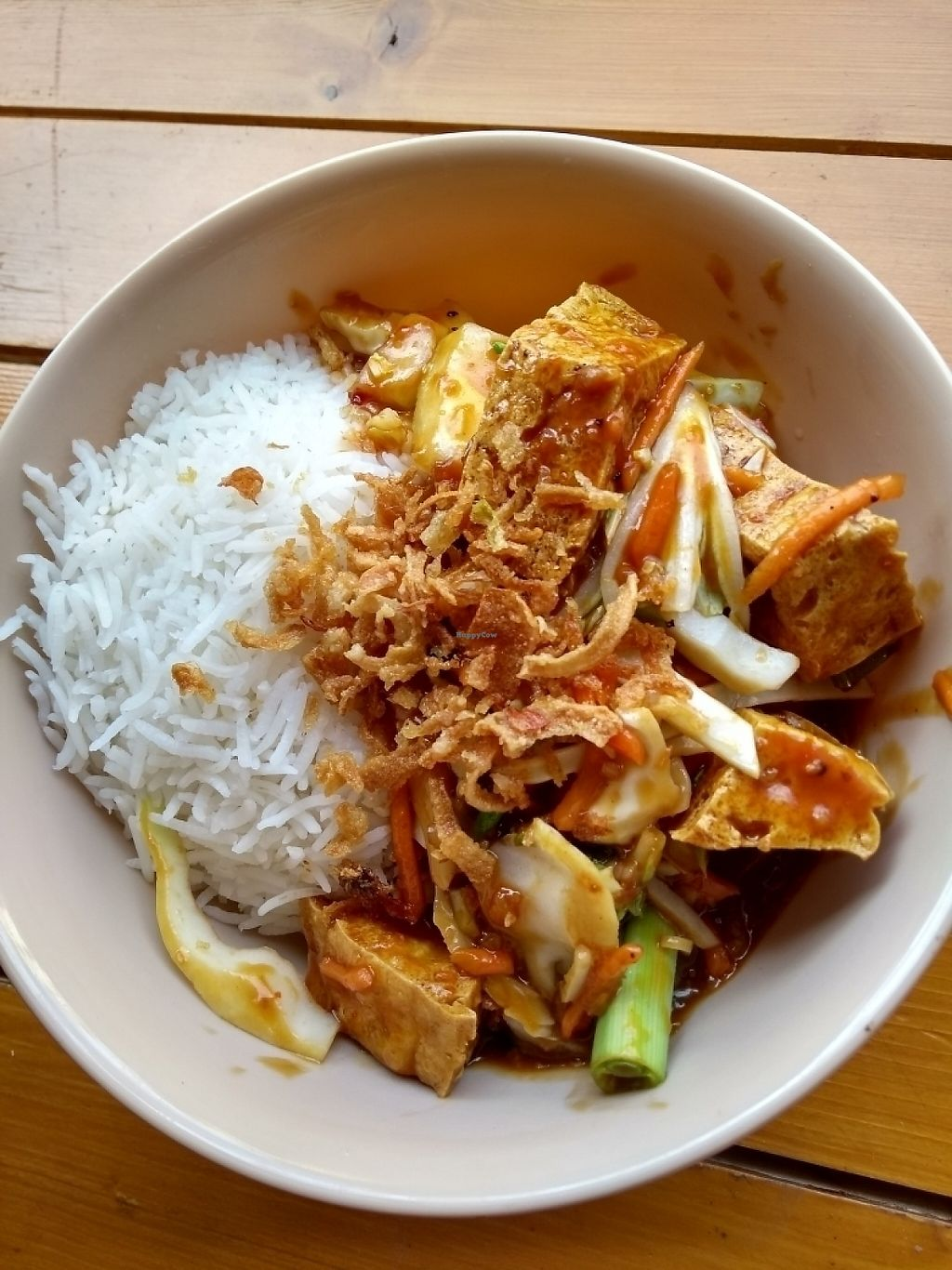 """Photo of Malay Kitchen Cork City  by <a href=""""/members/profile/kaibun"""">kaibun</a> <br/>sweet chilli coco tofu <br/> May 19, 2017  - <a href='/contact/abuse/image/90868/260325'>Report</a>"""
