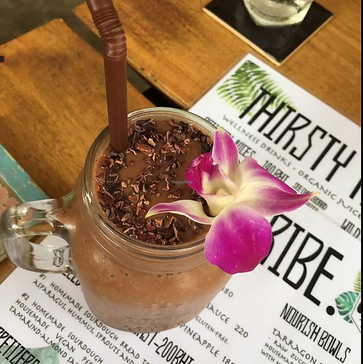 """Photo of Wild Tribe Cafe  by <a href=""""/members/profile/VeganMegan97"""">VeganMegan97</a> <br/>'chocolate date' tastes like milkshake  <br/> June 22, 2017  - <a href='/contact/abuse/image/90875/272189'>Report</a>"""
