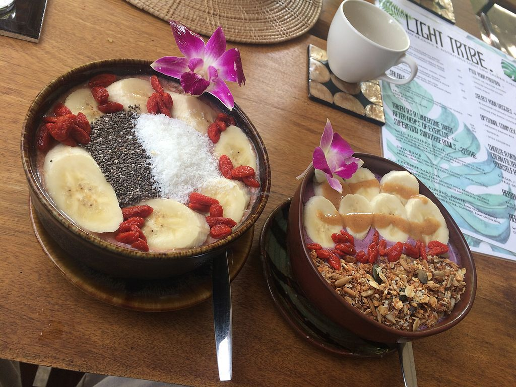 """Photo of Wild Tribe Cafe  by <a href=""""/members/profile/Chnanis"""">Chnanis</a> <br/>smoothie bowls <br/> July 27, 2017  - <a href='/contact/abuse/image/90875/285415'>Report</a>"""