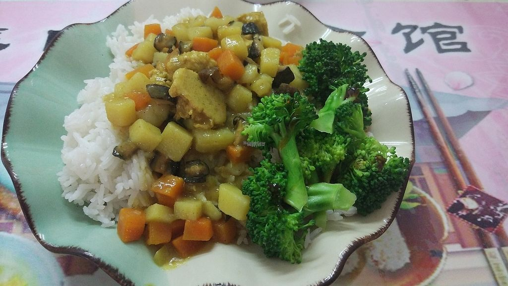 "Photo of Yuan Wei Su Guan  by <a href=""/members/profile/ultm8"">ultm8</a> <br/>Curry rice with vegetables <br/> April 25, 2017  - <a href='/contact/abuse/image/90882/252160'>Report</a>"